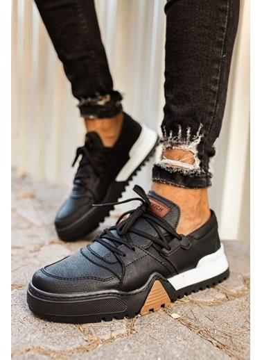 Chekich CH067 SBT Erkek Ayakkabı SıYAH/SıYAH Siyah